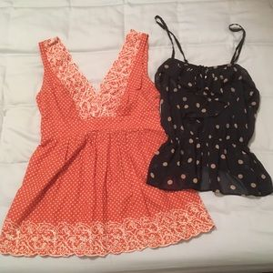 LOT OF 7 PIECES - 4 Tops, 3 Dresses, Sizes XS to S